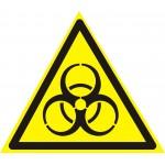 W16 Осторожно. Биологическая опасность (инфекционные вещества)