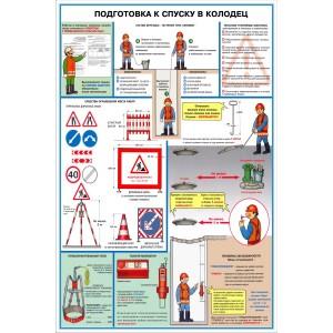 24. Безопасность труда на объектах водоснабжения и канализации (4 листа)