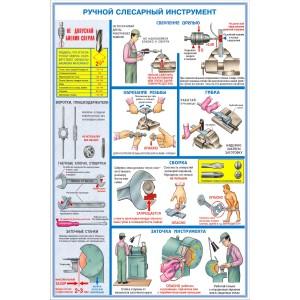 16. Ручной слесарный инструмент (3 листа)