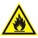 W01 Пожароопасно. Легковоспламеняющиеся вещества