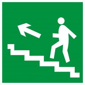 3.2.4.б Направление к эвакуационному выходу по лестнице вверх
